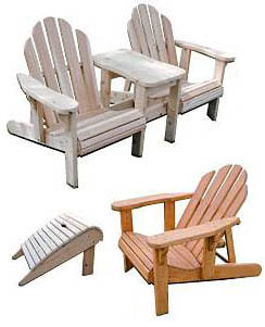 Free Adirondack Chair Table Plans