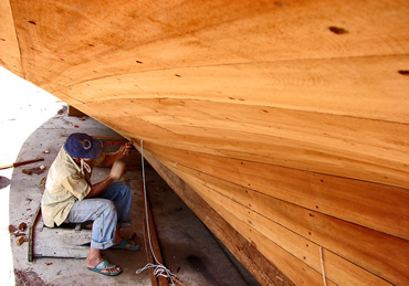 Wooden Boat Building - 4 Basic Techniques