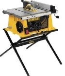 DEWALT DW744X 10-in Portable Table Saw with Folding Stand