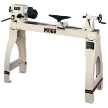JET 708358K JWL-1442VSK, 14-in x 42-in 1 HP Woodworking Lathe with Leg Stand